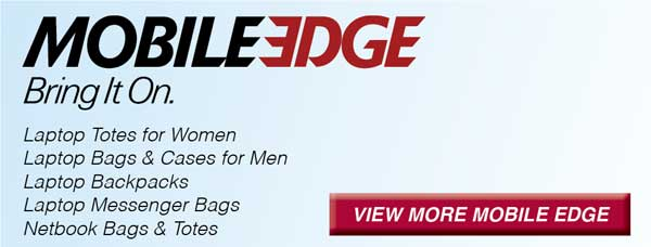 Laptop Bags and Cases by Mobile Edge