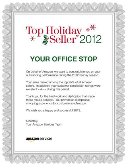 Amazon Top Seller - your Office Stop