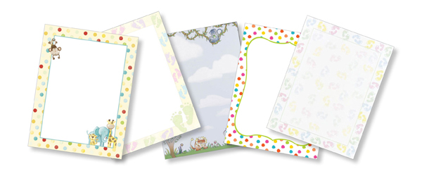 Baby, Kids, Children, Nursery Paper Stocks
