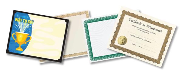 Certificate Paper - Awards Paper - Certificate Stock